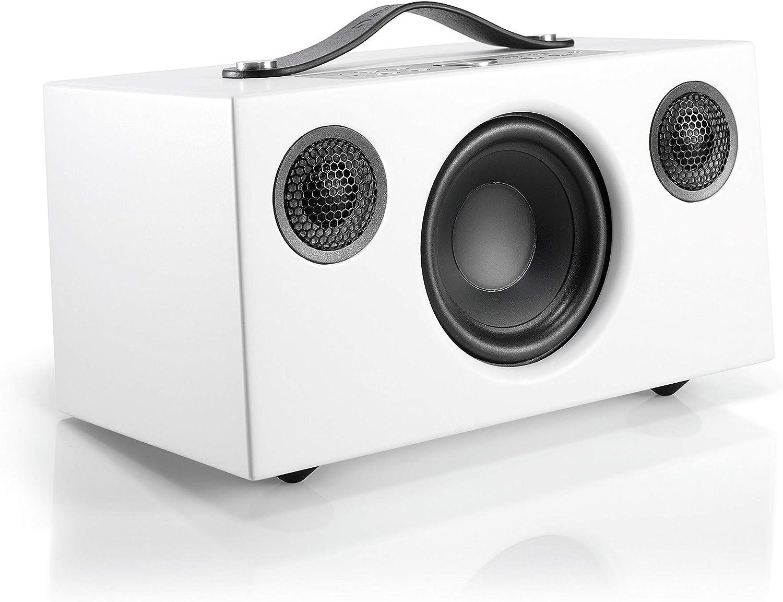 Audio Pro Addon C5 - Altavoz, con Alexa Integrada, (25 Watt, Multiroom, Stereo, WiFi, Bluetooth, App, Air Play, Music Apps (Spotify, Tidal, Deezer), radio por internet como TuneIn) Color Blanco