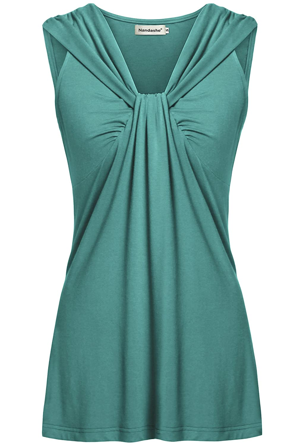 b19072fd6f5 Features:Vneck Cami/Notch Neck/Sleeveless Tunics/Boho Tanks/Solid  Color/Flowy Tops for Women/Maternity Pregnant Nursing Tops/Casual Loose  Camis/Chic ...