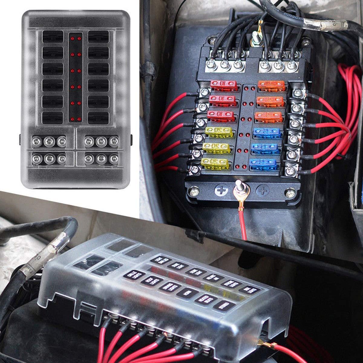 TDJ 40] Fuse Box Bar Kit   cabling carbon wiring diagram value ...