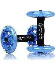 5BILLION Ab wheel Roller & Rueda Abdominal - Double Ab wheel - Entrenamiento para Abs,