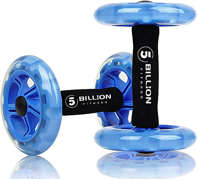 5BILLION Ab wheel Roller & Rueda Abdominal - Double Ab ...