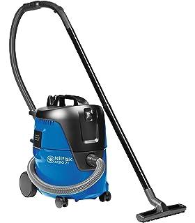 Nilfisk 107407544 - Aspirador monofásico de agua y polvo, 1500 W, depósito 30 l, caudal de aire 3700 l/min, color negro y azul: Amazon.es: Industria, empresas y ciencia