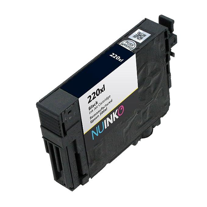 Amazon.com: nuinko 5 Pack Remanufacturado Epson 220 x l ...