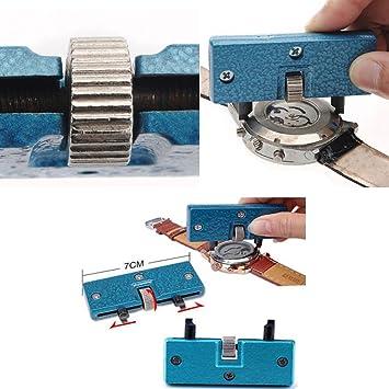 Rectangular Anchor DroysTM Ferramentas reloj de mujer con esfera screw-on diseño de ajustable para llave para abrir llave extractor de Herramientas para ...