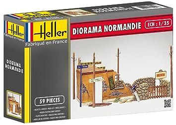 Heller 81250: Diorama Normandía en la 1:35