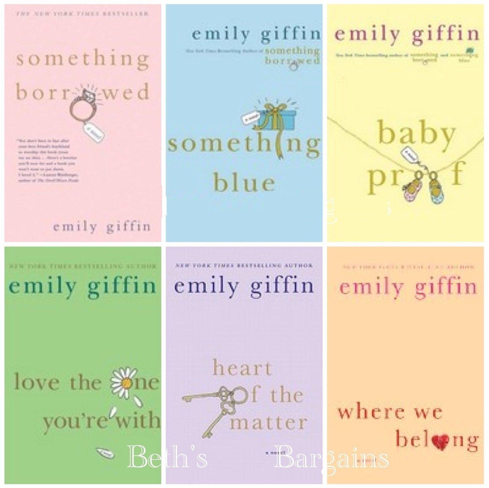 Emily Giffin Book Set Something