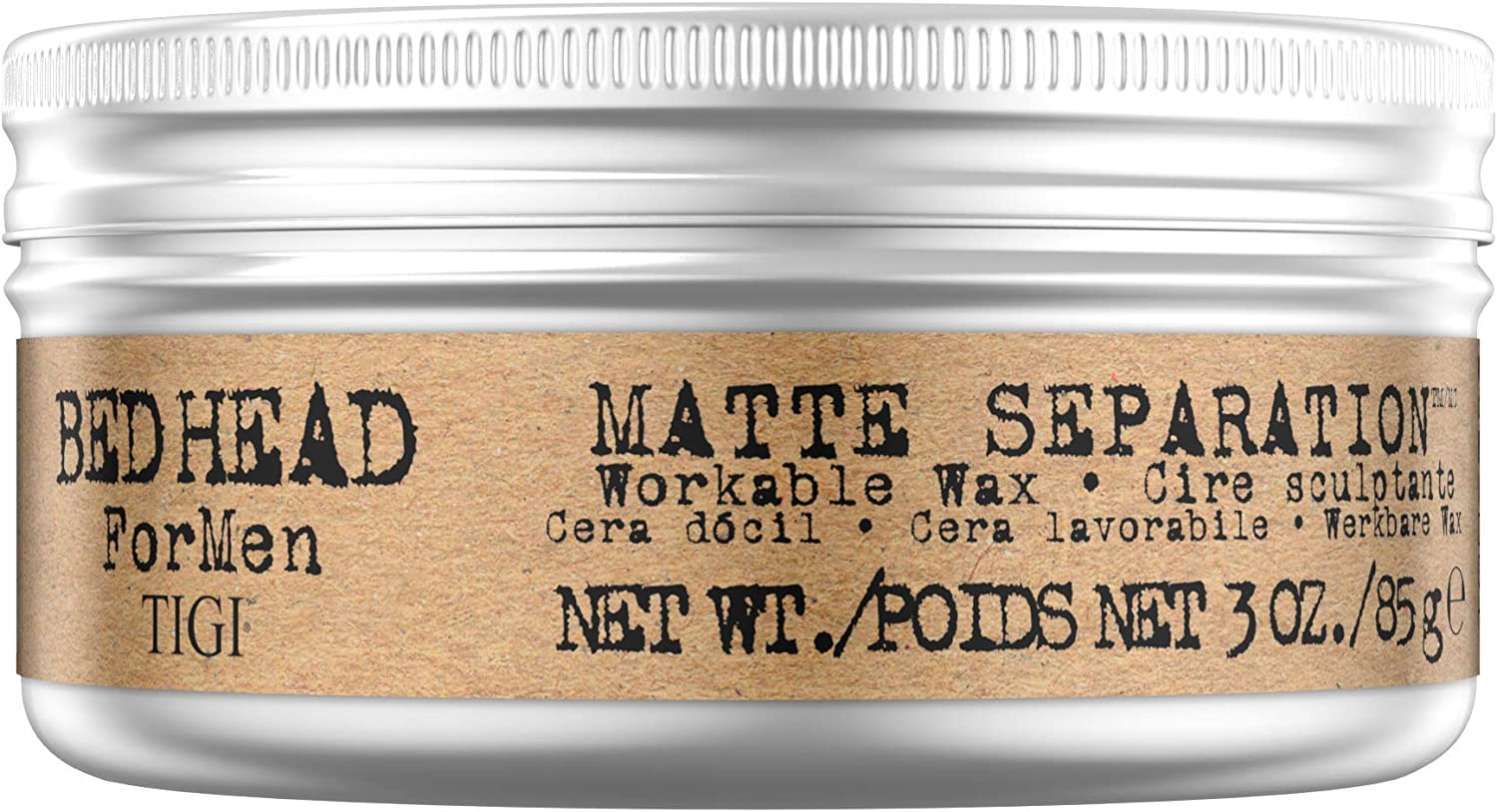 Bed Head For Men By Tigi Matte Separation Mens Hair Wax For Firm Hold 85 G Amazon Co Uk Beauty