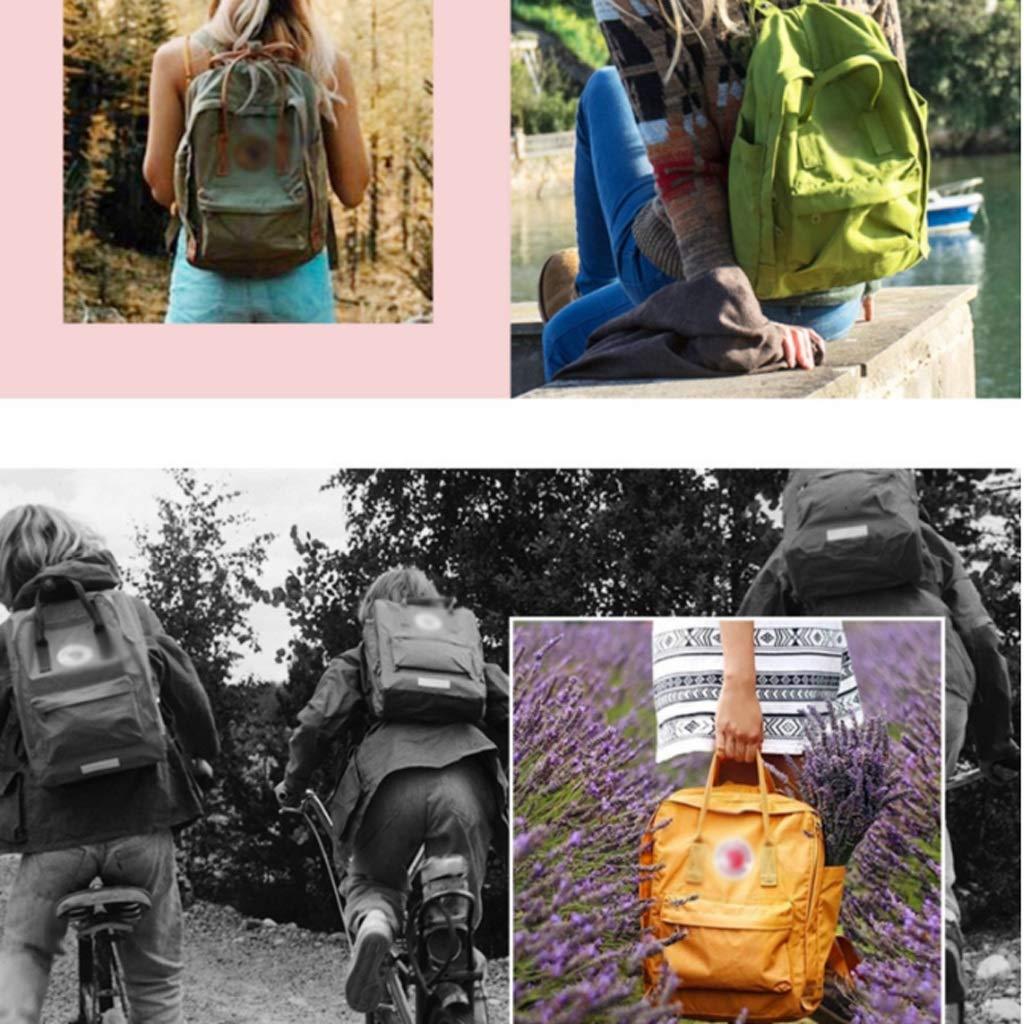 Junior High School studentväska män och kvinnor mellanstadiet studenter ryggsäck mode trend dubbel axelväska studentväska (färg: B) jag