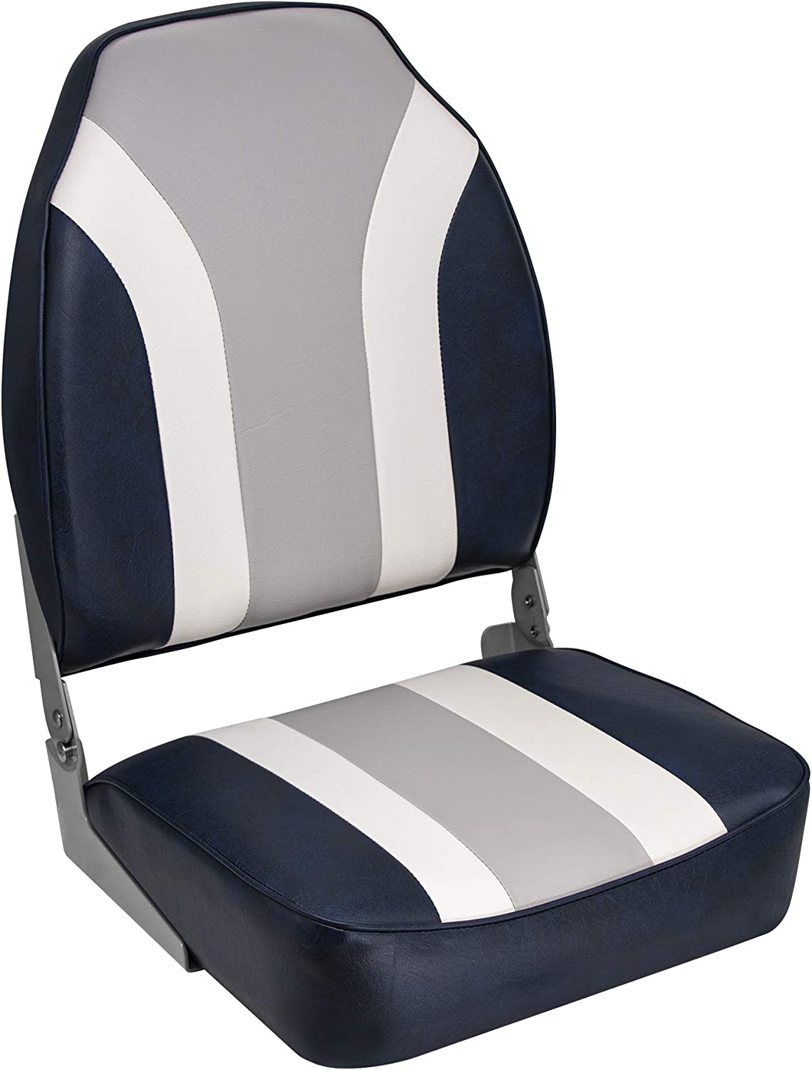 """Boat Seat /"""" Fisherman /"""" Includes Turntable Steering Chair Eddy Anglersitz Boat"""