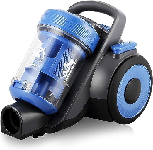 Aspirador ciclónico sin bolsa Silence, 800 W, sin bolsa: Amazon.es ...