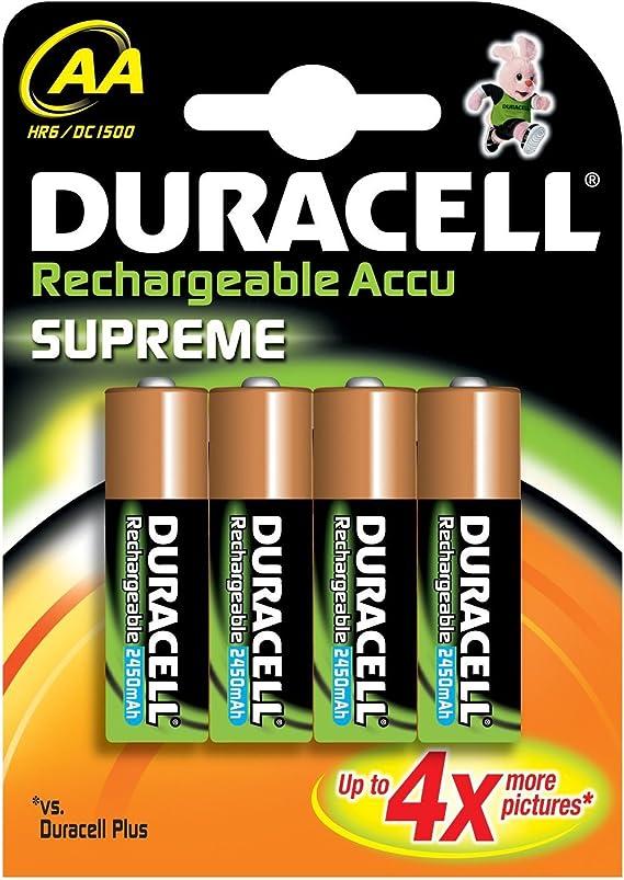 Duracell Pre Charged Wiederaufladbare Aa Batterien 2400 Mah