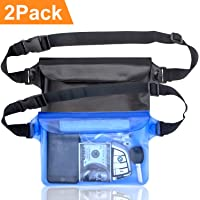 Pouch Bag Waterproof Case With Waist Strap For Beach Swimming Boat Kayaking*sg