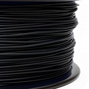 Gizmo Dorks 3mm (2.85mm) PC Polycarbonate Filament 1kg / 2.2lbs for 3D Printers, Black
