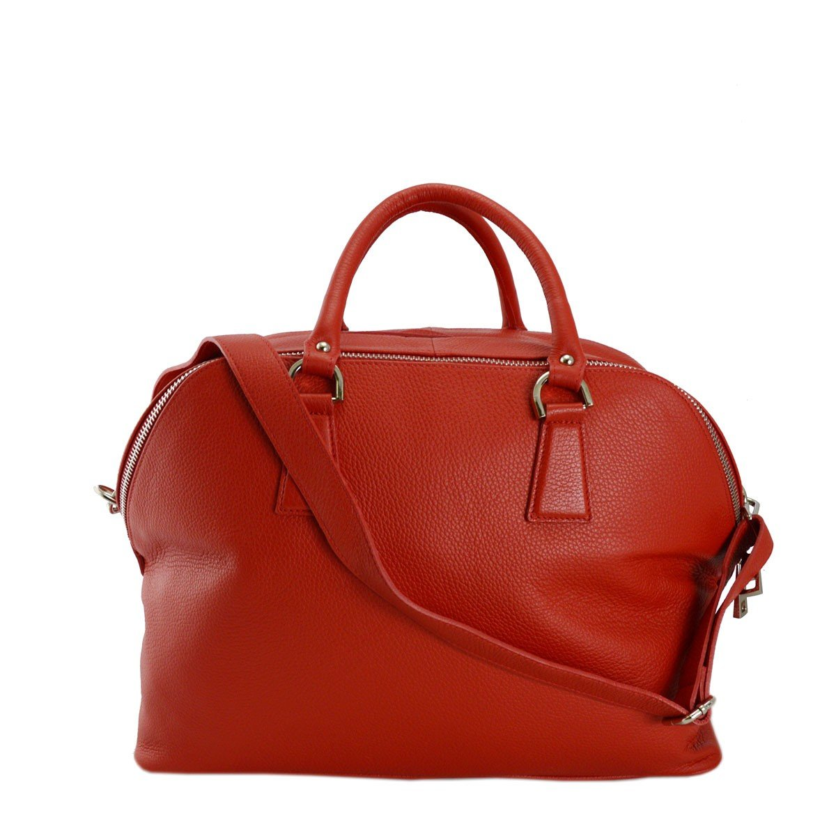 Dream Leather Bags Made in Italy Genuine Leather メンズ 554-4 US サイズ: 1 M US カラー: レッド B07C43LH76