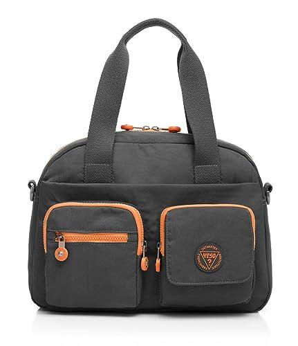 673bf70b07d9b0 YESO Casual Travel Designer Shoulder Bag Handbag Waterproof Washing Nylon  Bags Outdoor Sport Tote Messenger Bag