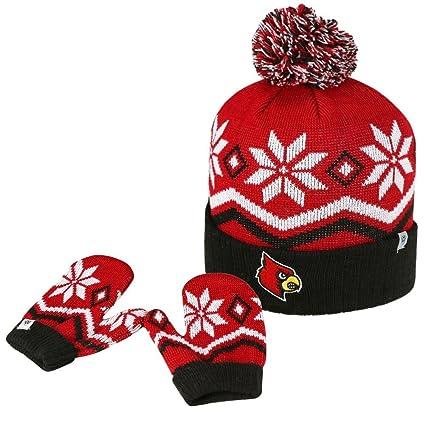 546443e2c3e Amazon.com   Top of the World Toddler Knit Louisville Cardinals Hat ...