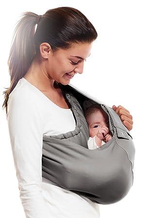 Wallaboo - Porte bébé Connection - Ergonomique de la naissance à 36 mois -  Le porte 500b9d0edbc