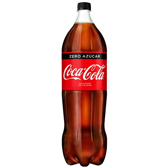 Coca-Cola - Zero, Botella de Plástico 2 L