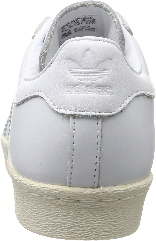 adidas Damen Superstar 80s Cork Gymnastikschuhe Weiß Footwear White Footwear White Off White