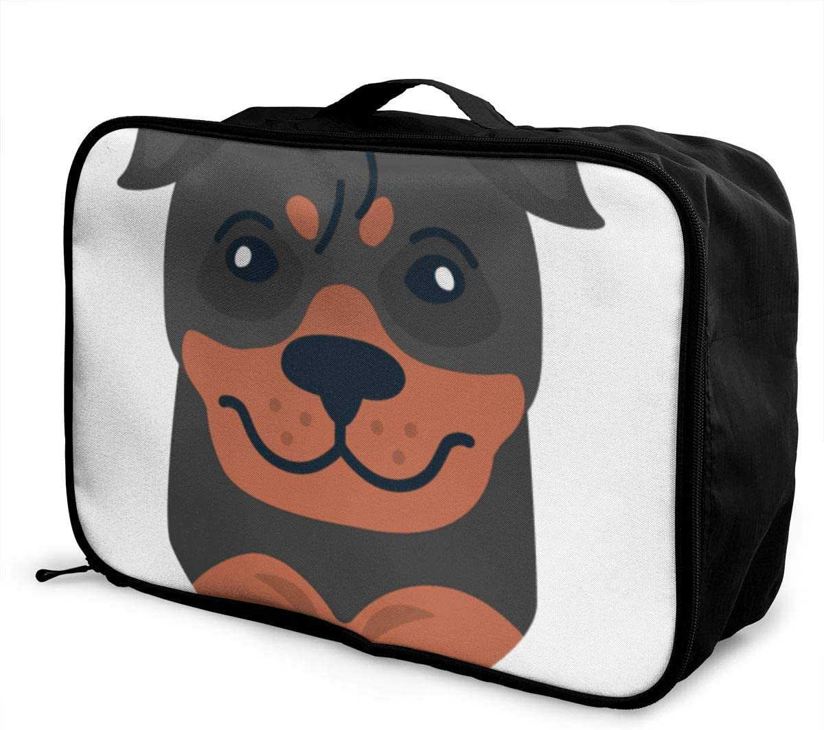 Sports Waterproof Light Travel Bags Rottweiler Interesting Mens And Womens Travel Folding Bags Gym