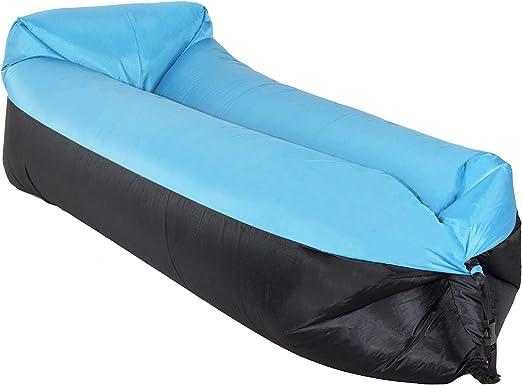 SPRINGOS Lazy Bag - Sofá hinchable para playa, camping, playa ...