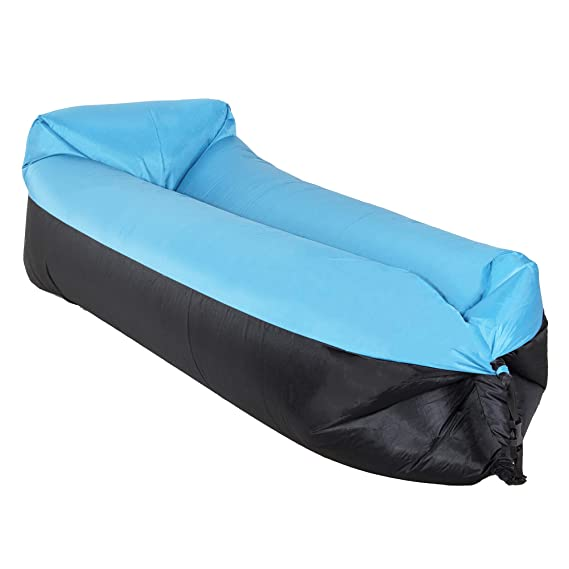 SPRINGOS - Lazy Bag - Saco de Dormir Hinchable para sofá, Camping ...