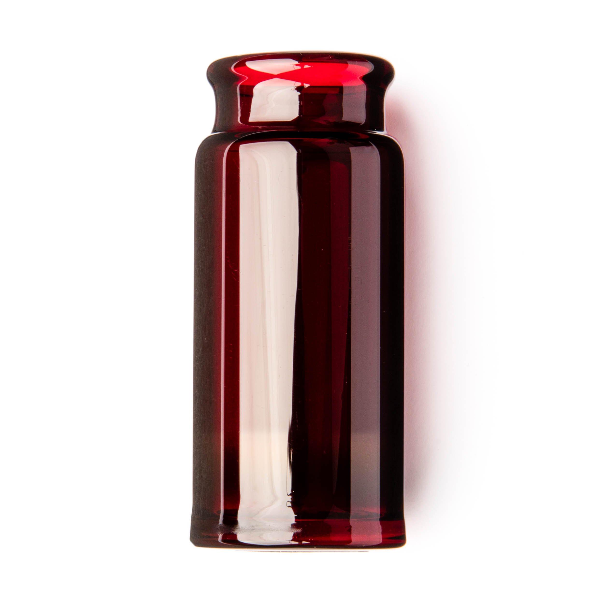 Dunlop 277RED Blues Bottle Slide, Red, Regular Wall Thickness, Medium