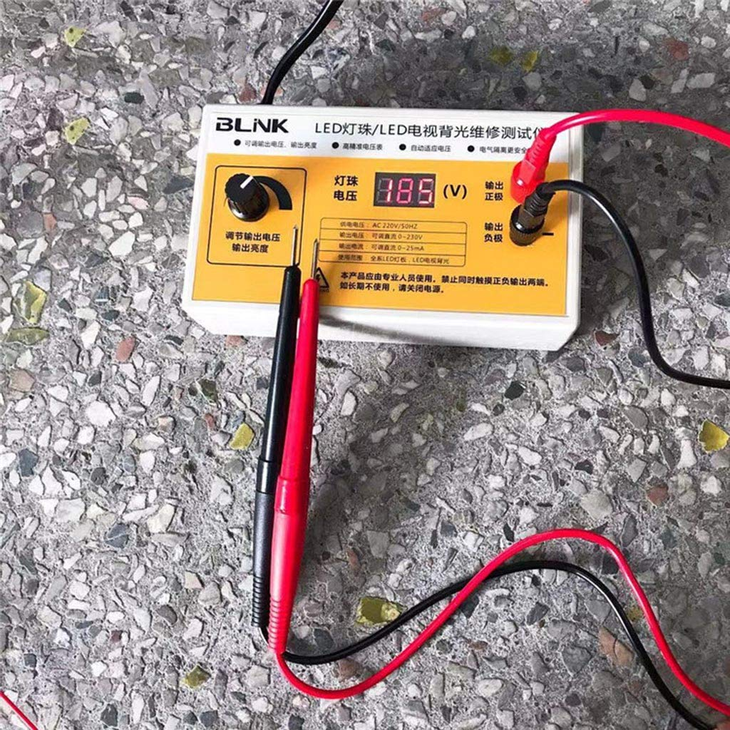 Weishazi AC 220V LED TV Backlight Tester Tiras LED Pantalla Retroiluminada Prueba W Voltaje Display