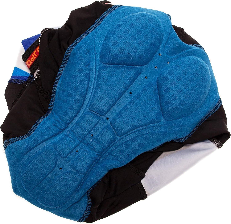 Mens Cycling Jersey,Bicycle Short Sleeve Summer Outdoor Sports Cycling Bib Shorts