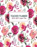 Teacher Planner 2018-2019 Lesson Plan: My 365 Happy Daily Teacher Planner. Record 7 Subject, Lesson Planner, Monthly, Weekly and Daily Personalized ... Planner Homeschool Gradebook) (Volume 10)