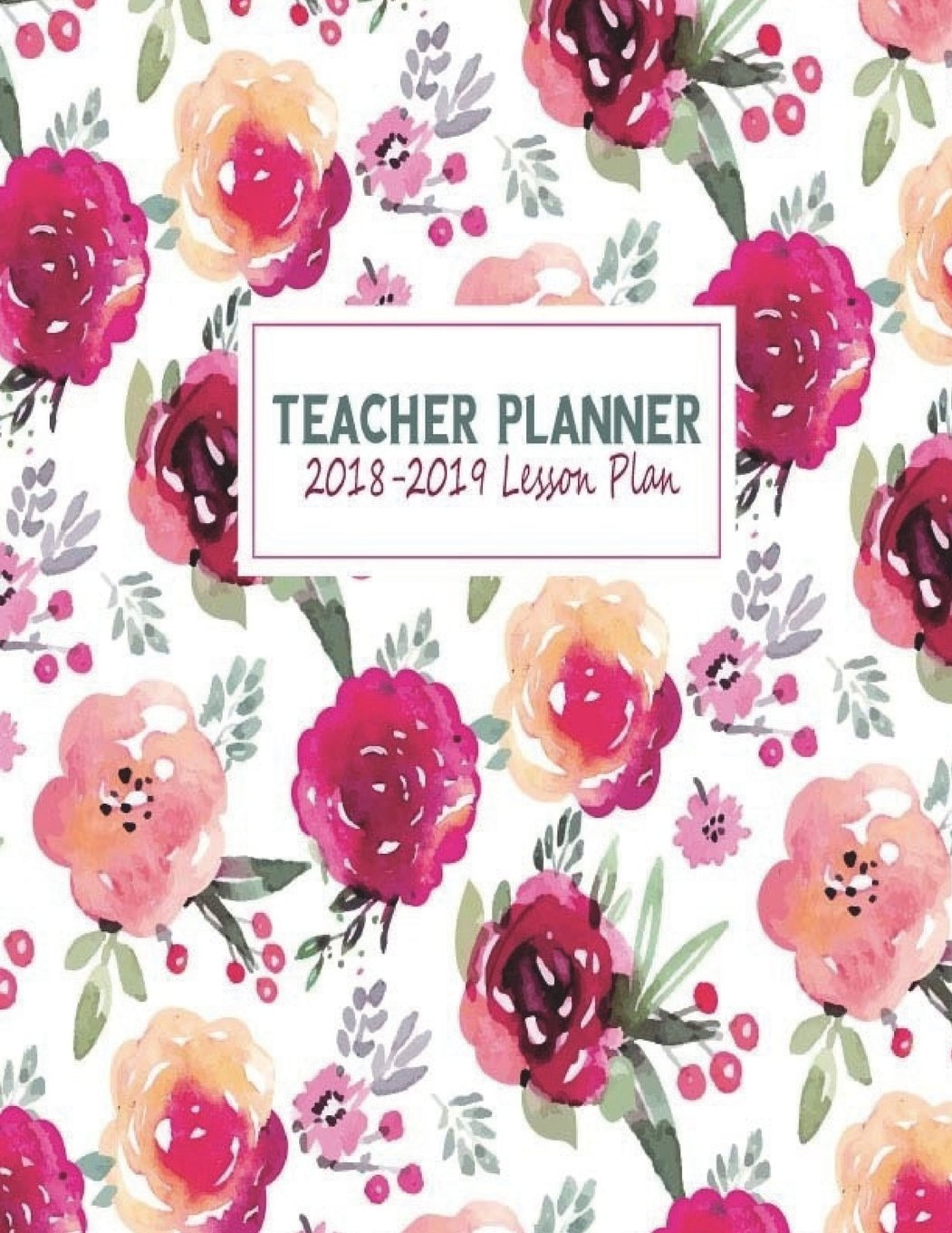 Read Online Teacher Planner 2018-2019 Lesson Plan: My 365 Happy Daily Teacher Planner. Record 7 Subject, Lesson Planner, Monthly, Weekly and Daily Personalized ... Planner Homeschool Gradebook) (Volume 10) PDF