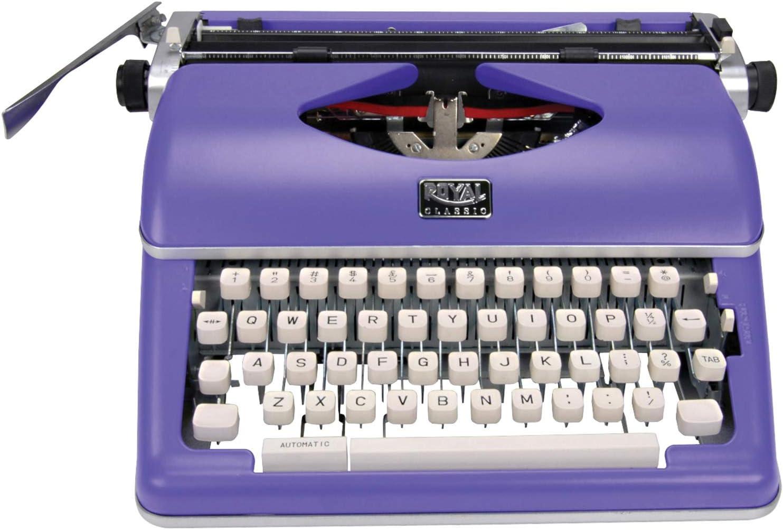 Amazon.com: Royal 79119q Classic Manual Typewriter (purple ...