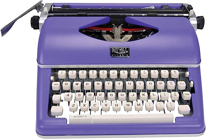 Amazon.com: Royal 79119q Classic Manual Typewriter (purple): Office Products