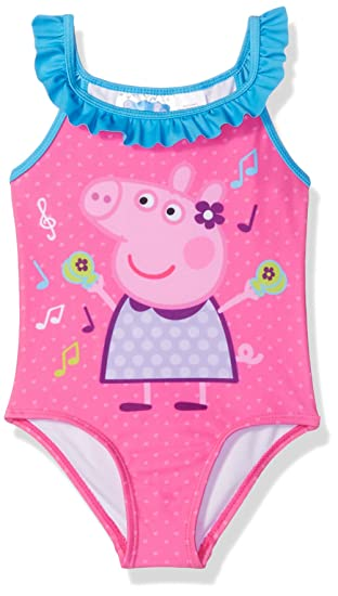 Amazoncom Dreamweave Girls Toddler Peppa Pig Swimsuit Clothing