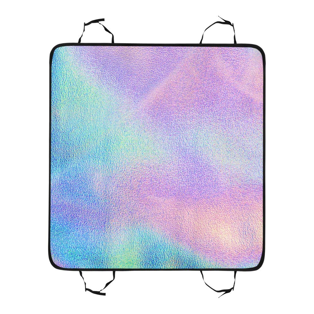 VNASKL Dog Seat Cover Custom Holographic Real Texture Blue Pink Green Printing Car Seat Covers for Dogs 100/% Waterproof Nonslip Durable Soft Pet Car Seat Dog Car Hammock for Cars Trucks SUV