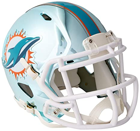 5758be14dbf Image Unavailable. Image not available for. Color  Riddell Chrome Alternate  NFL Speed Authentic Mini Size ...
