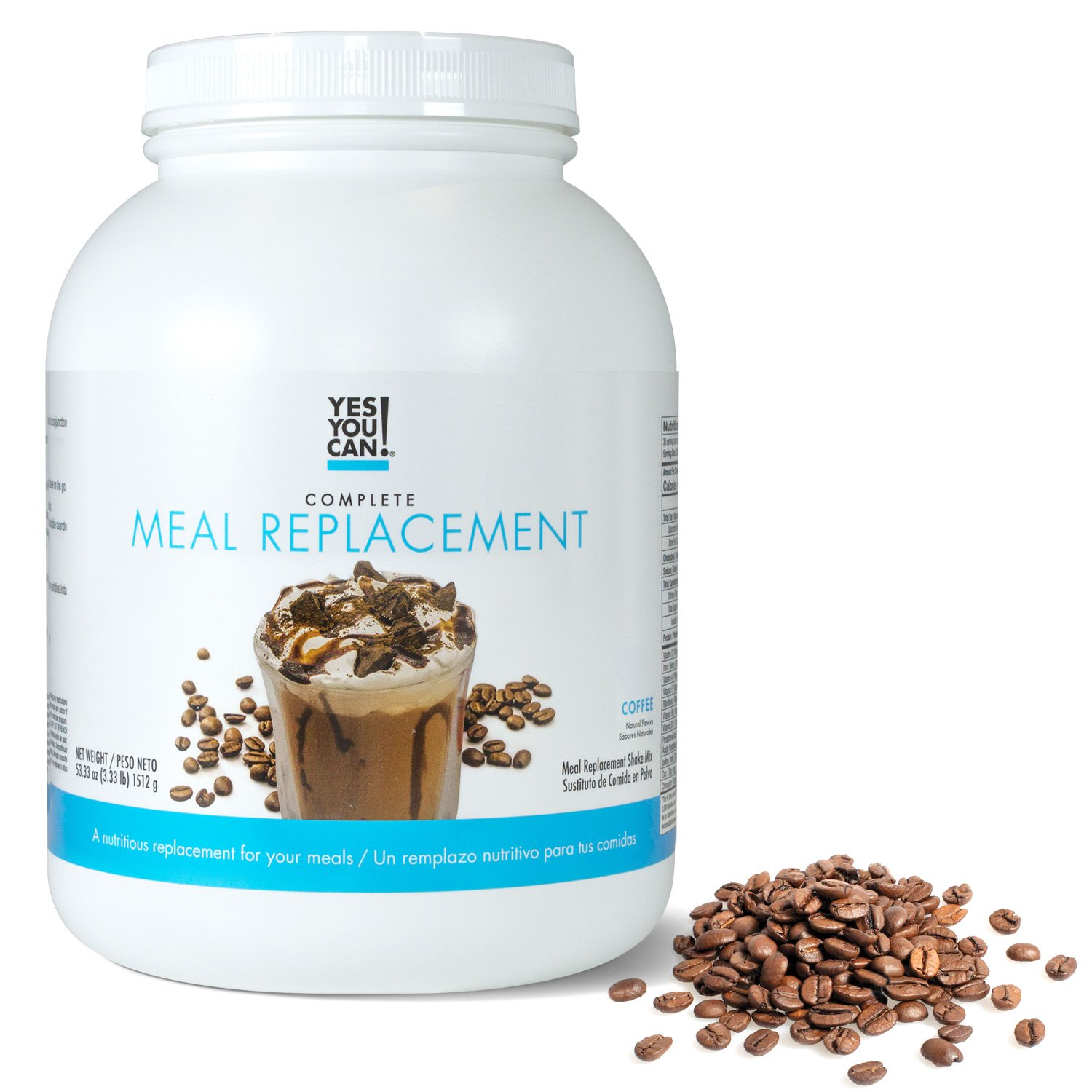 Yes You Can! Complete Meal Replacement, Up to 2 Meals a Day, Helps Lose Weight - Sustituto de...