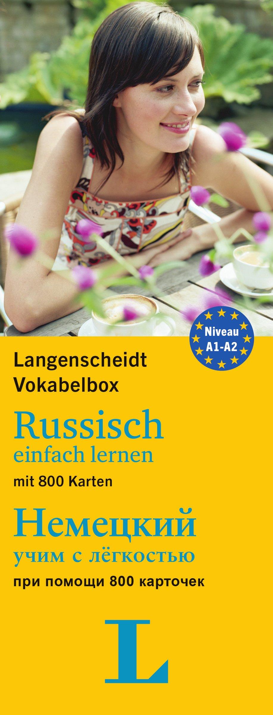 Langenscheidt Vokabelbox Russisch einfach lernen - für Anfänger und Wiedereinsteiger: Box mit 800 Karten, Russisch-Deutsch / Deutsch-Russisch (Langenscheidt Vokabelbox einfach lernen)