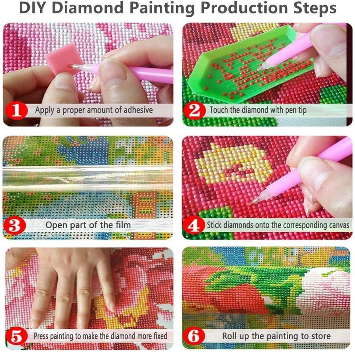 40cm 5D Diamond Painting kit completo drill 5D Fai da Te Diamante Pittura Scenario di montagna di neve Ricamo Strass Punto Croce Arte Artigianato Creazione di Mosaico decorazione da parete 30