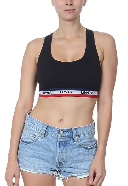 ae898a7bd7dc7e Levi s Sportswear W Bralette  Amazon.co.uk  Clothing