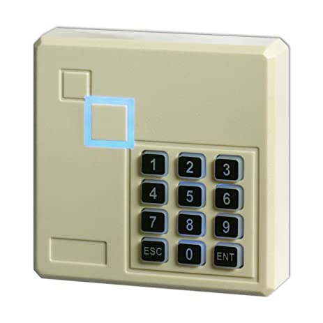 Superb Access Control Reader, ZOTER Door Entry RFID Keypad Waterproof 125KHz  Backlight For DIY Security System