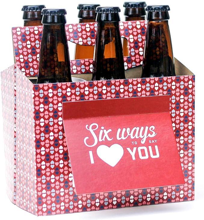Six Pack Greeting Card Box