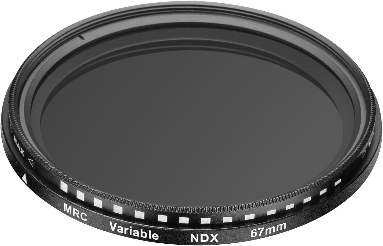67mm Adjustable Neutral Density ND2-ND400 Filter