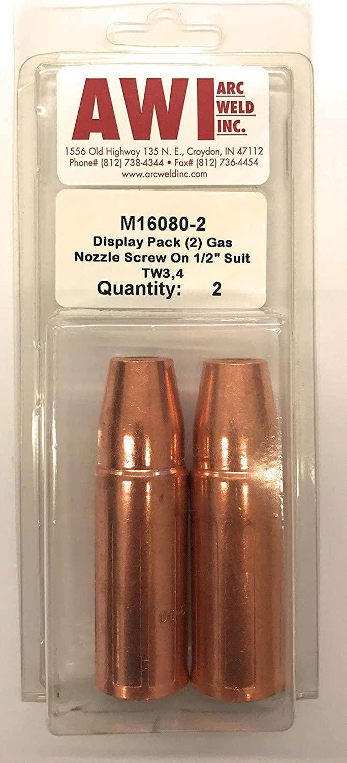 Pack of 2 Arc Weld by Masterweld M16080-2 Lincoln Style Fixed ...