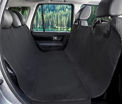 Amazon.com : BarksBar Original Pet Seat Cover for Cars - Black ...