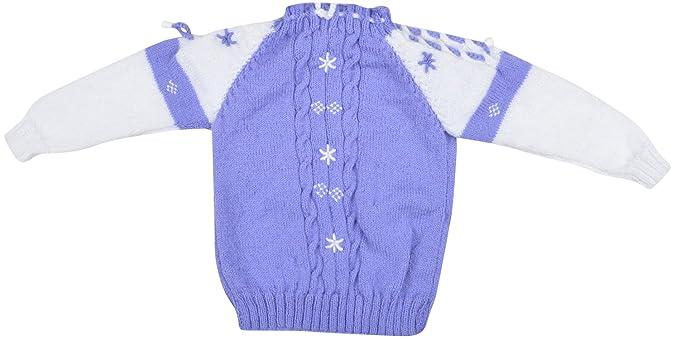 fbf230d46 Kuchipoo Unisex Hand Knitted Woollen Sweater (KUC-SWT-608 Purple ...
