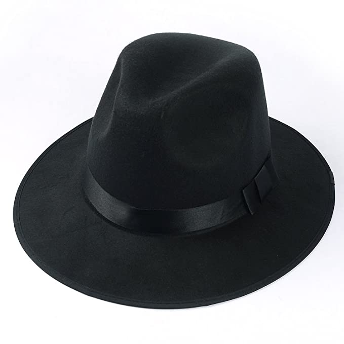 951a50f85c155 Image Unavailable. Image not available for. Color  Vangoddy Classico Men s  Crushable Wool Felt Fedora Panama Hat