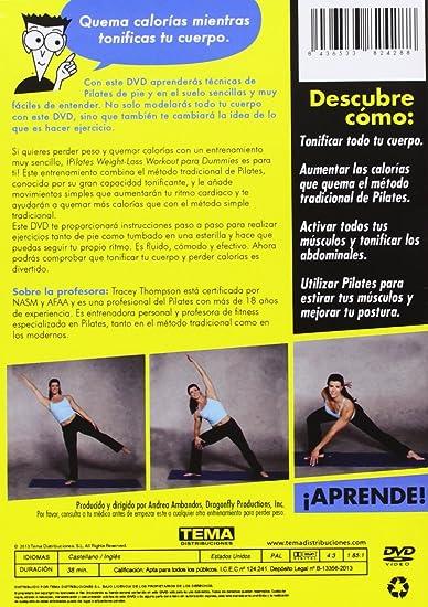 Amazon.com: Pilates Workout For Dummies (Import Movie ...
