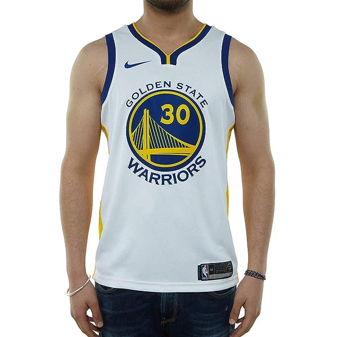 Nike GSW M Nk Swgmn JSY Home Camiseta 1ª Equipación Golden ...