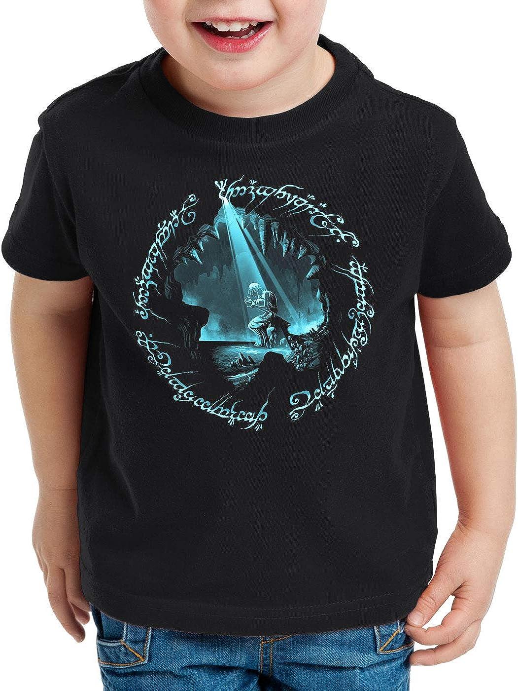 A.N.T Anillo Precioso Camiseta para Ni/ños T-Shirt Anillo Tierra Media